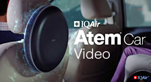 IQAir Atem Car Air Purifier Video