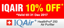 IQAir Air Purifier Promotion